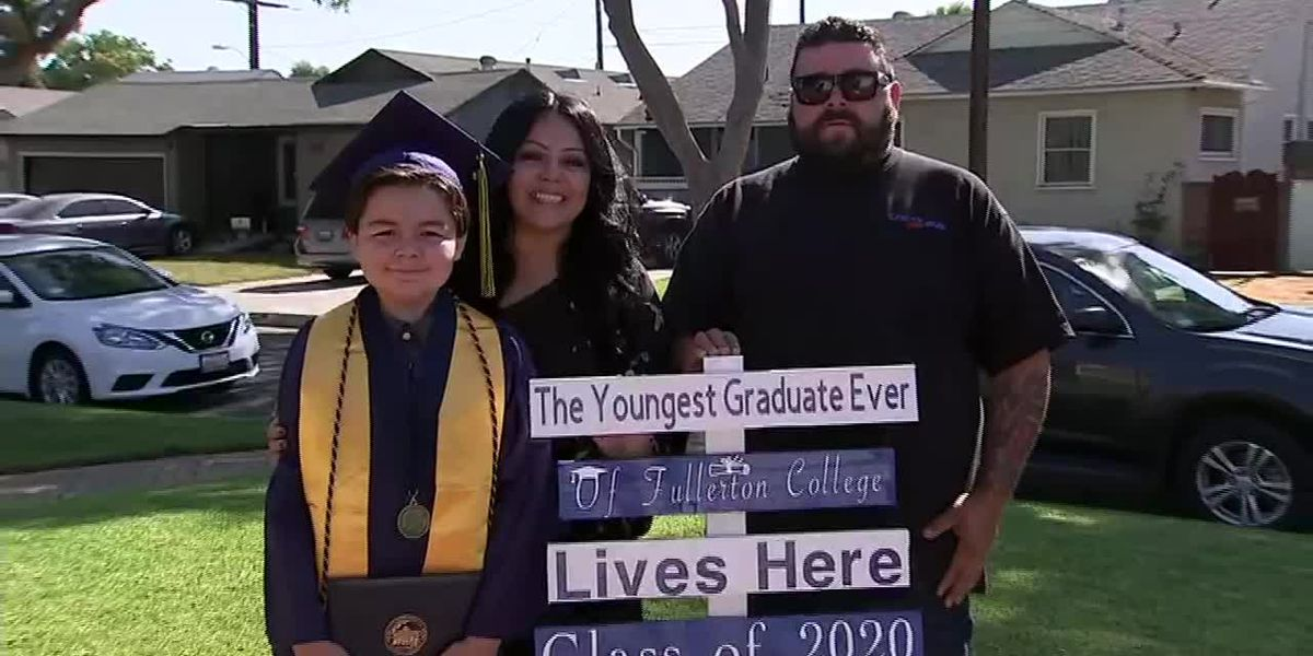 13-year-old earns four associate's degrees in two years