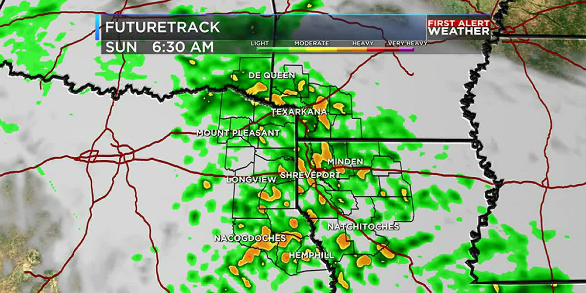Rain chances return late tonight