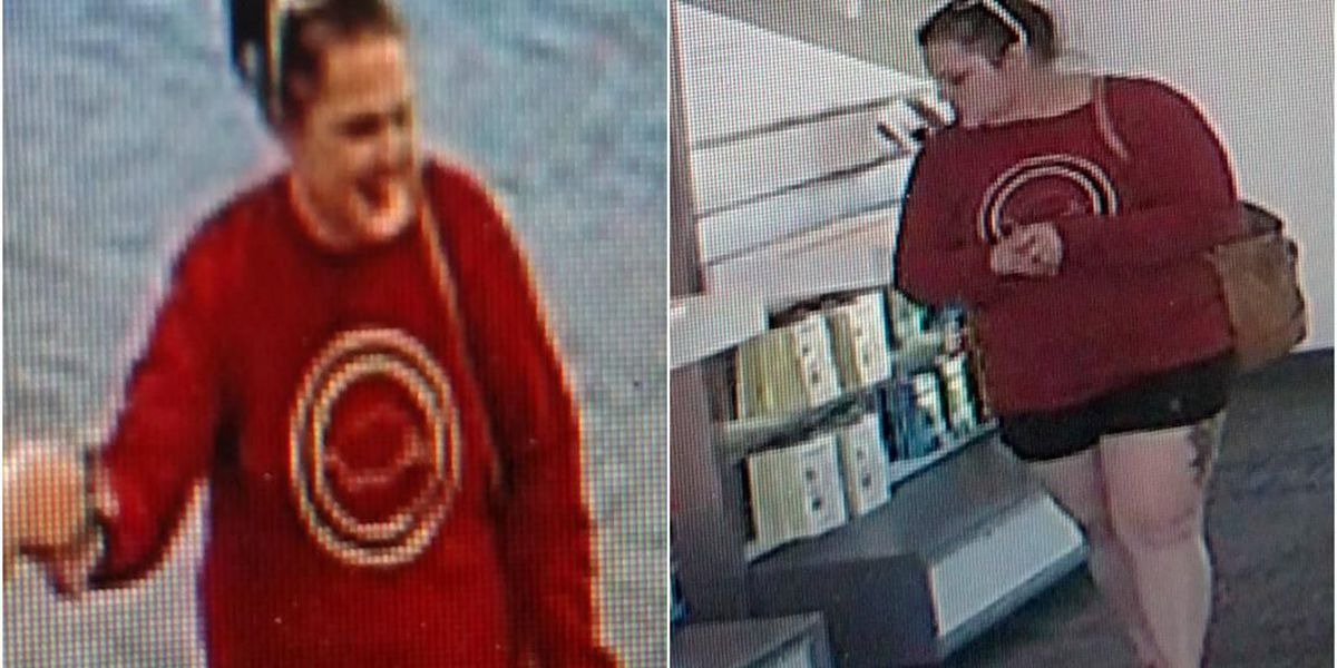 Texarkana, TX, police seek help identifying suspected thief