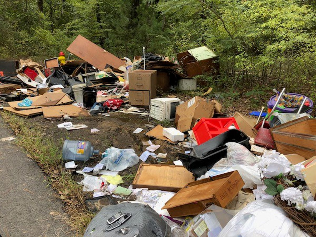 Former hot spot for illegal dumping in Shreveport just saw worst offense in years