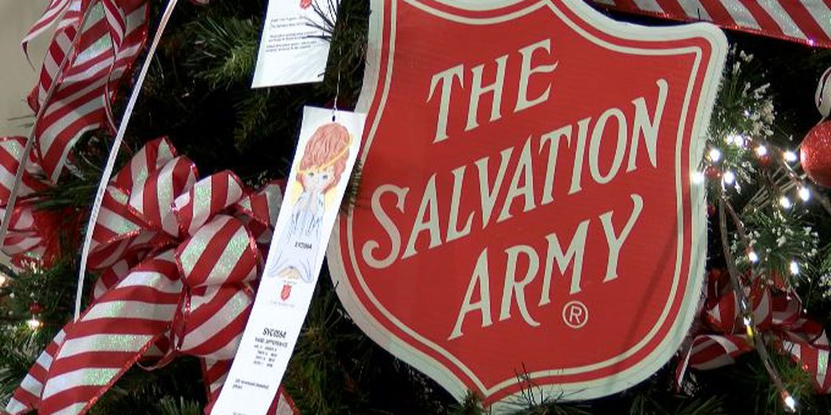 The Salvation Army's Angel Tree and Red Kettle Campaigns kick off on Nov. 21