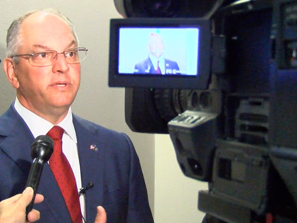 Louisiana governor addresses national cybersecurity summit in Shreveport