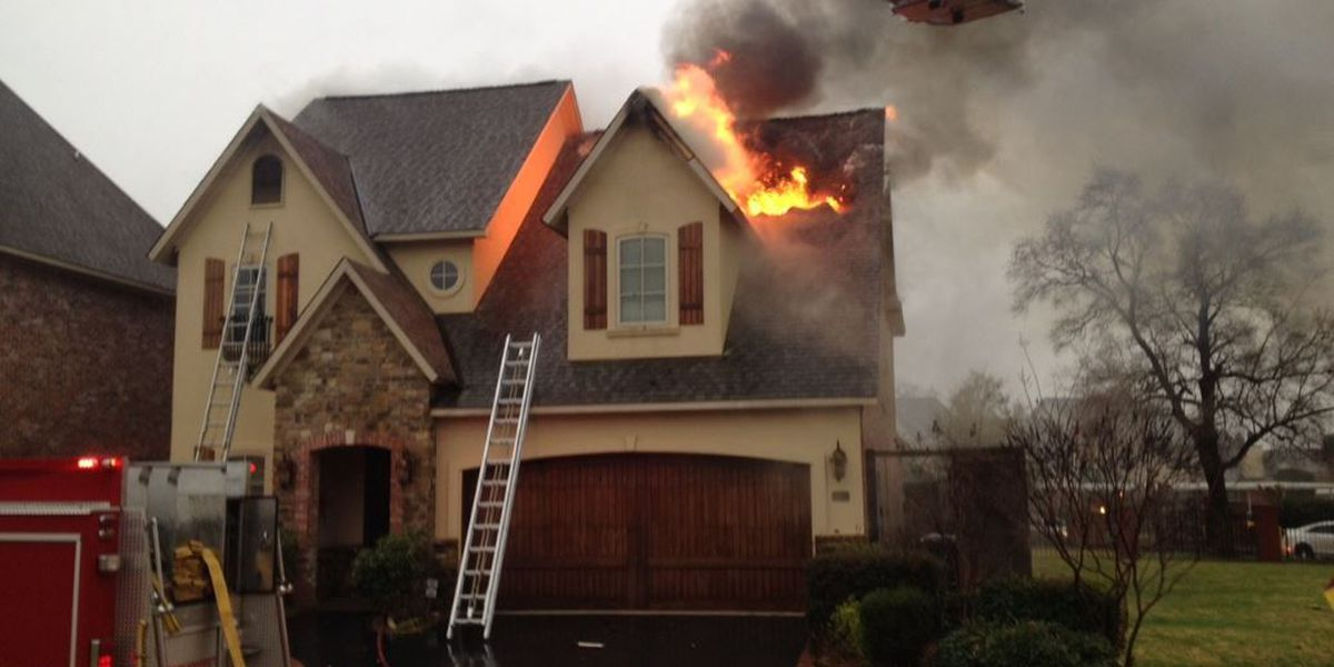 Lightning suspected cause of Bossier house fire