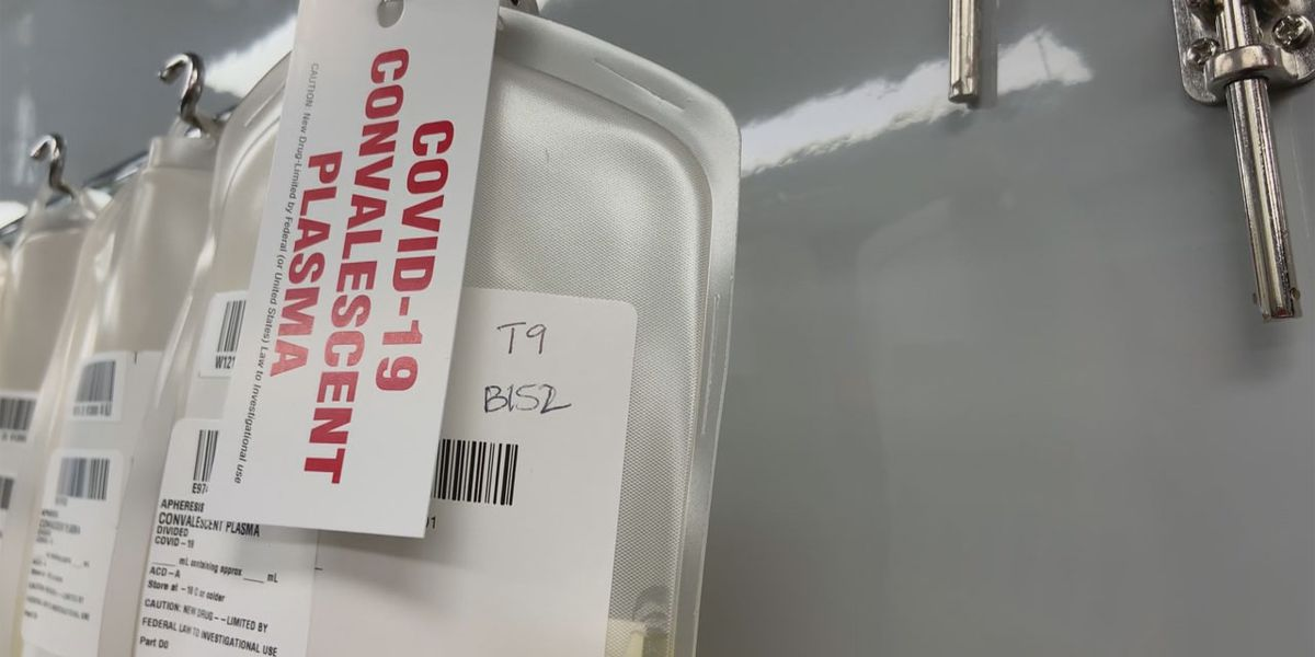 COVID-19 survivors helping patients with convalescent plasma