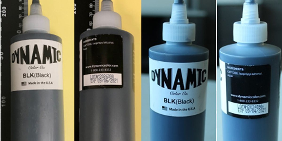Tattoo ink recalled for bacterial contamination concerns
