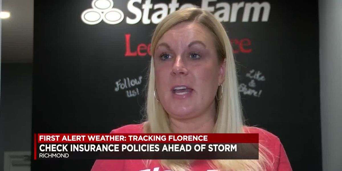 WWBT NBC12 - Check insurance policies ahead of Florence
