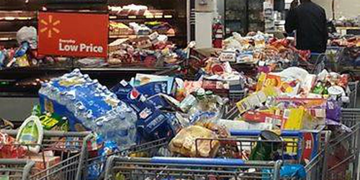 Walmart shelves in Springhill, Mansfield, cleared in EBT glitch