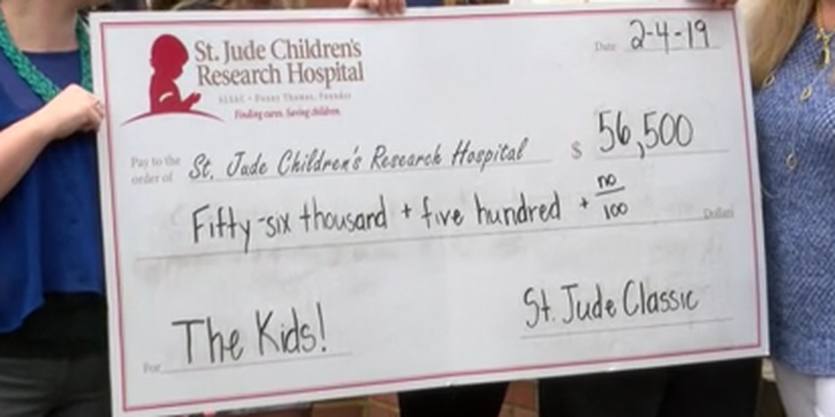 Tennis tournament benefiting childhood cancer research hopes to smash fundraising records