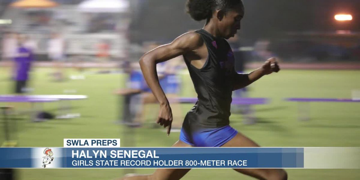 Saint Louis Catholic's Halyn Senegal unofficially breaks Louisiana High School girls 800-meter record