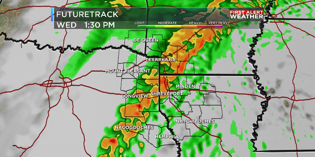 Soaking weather continues for ArkLaTex