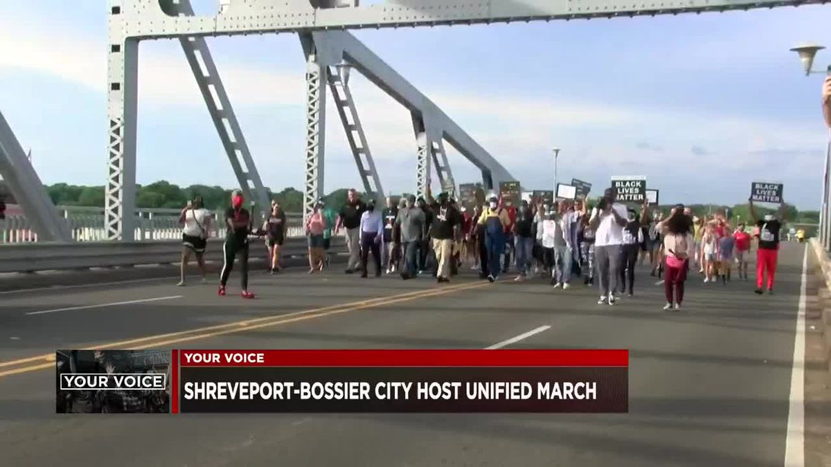 People meet, pray on Texas Street bridge to stand for unity, equality