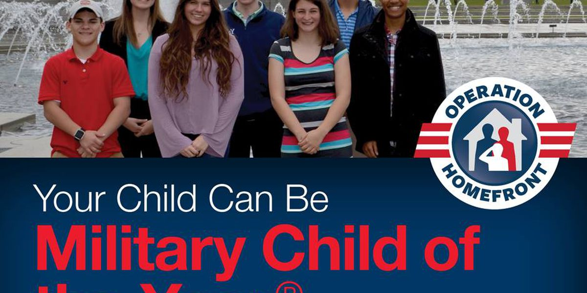 Children in military families eligible for $10,000 award