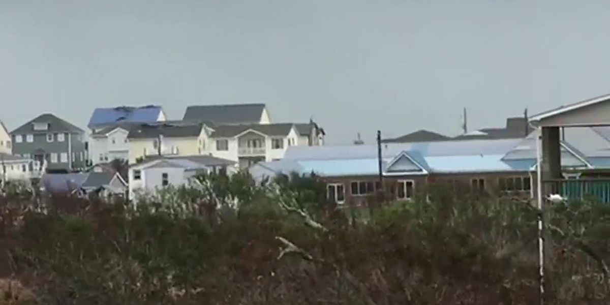 RAW: Conditions in Surf City as Michael passes through (viewer submitted)