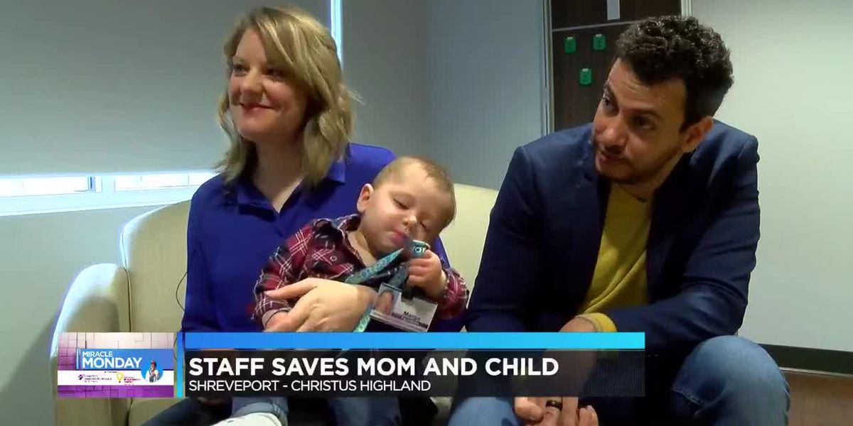 Miracle Monday: Staff saves mother and child