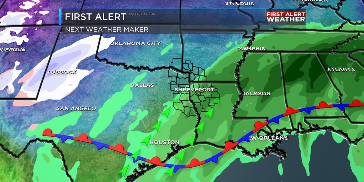 FIRST ALERT: We'll go from spring to back to winter by early next week