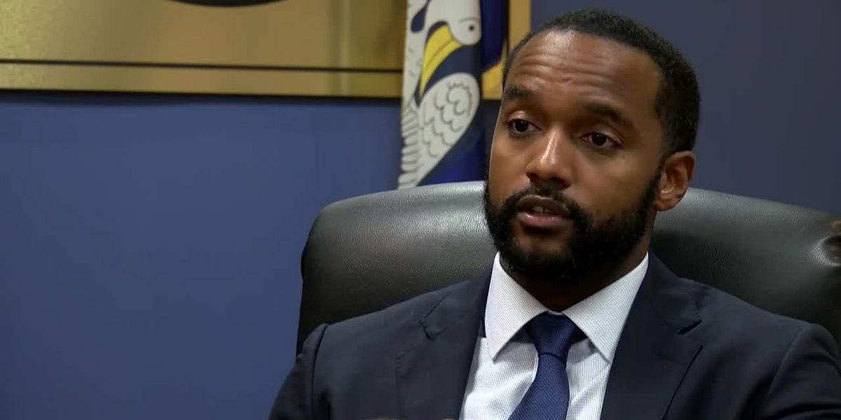 Shreveport Mayor Adrian Perkins to speak at 2 p.m.