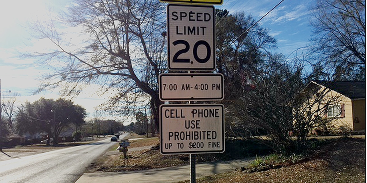 School zone in Marshall, Texas to change hours