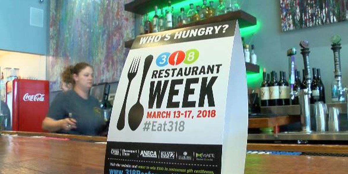 318 Restaurant Week offers deals for lunch, dinner for 5 days