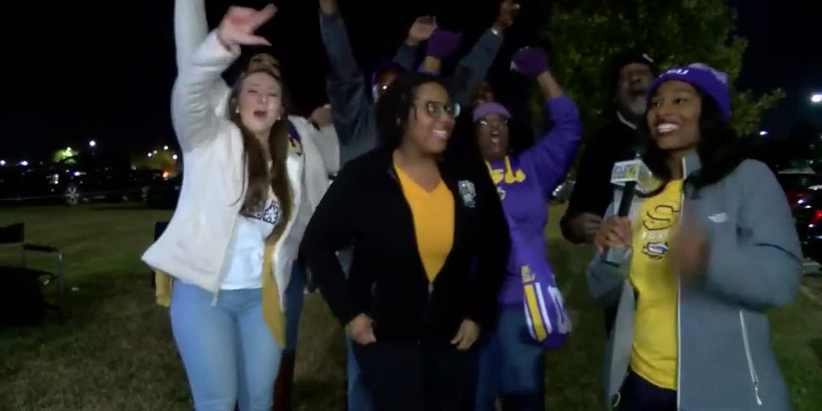 Fans drive from Detroit, Ponchatoula to watch LSU Tigers beat Crimson Tide 46-41 in Alabama