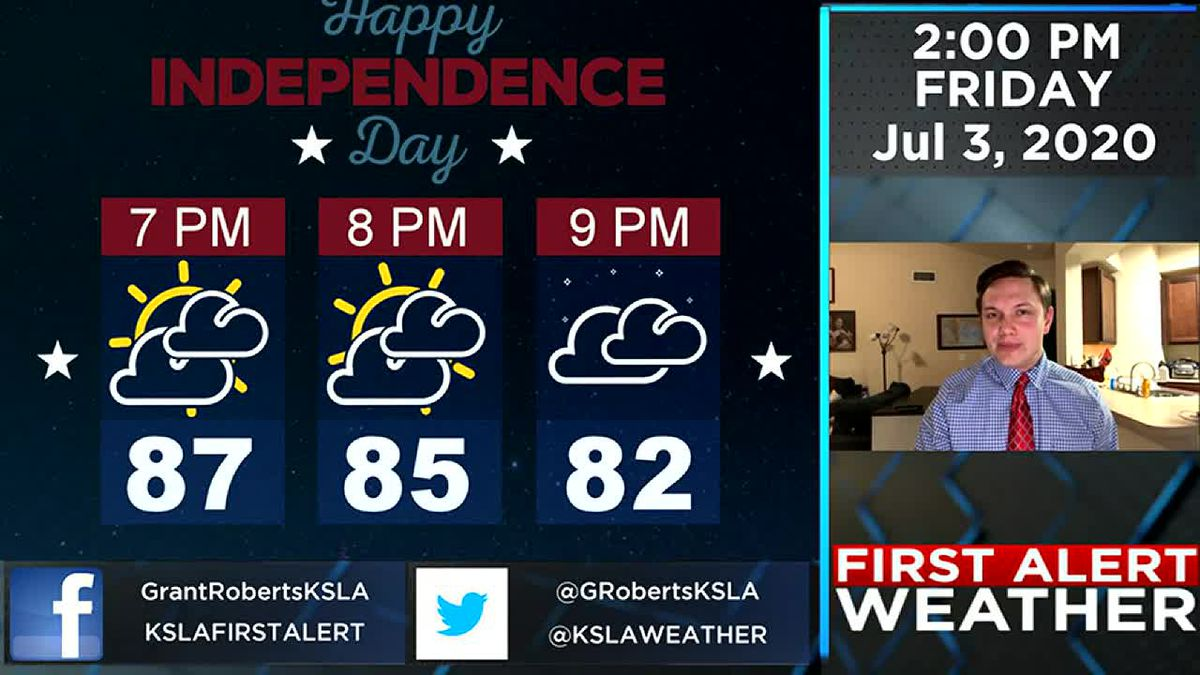 Storms expected over July 4th weekend