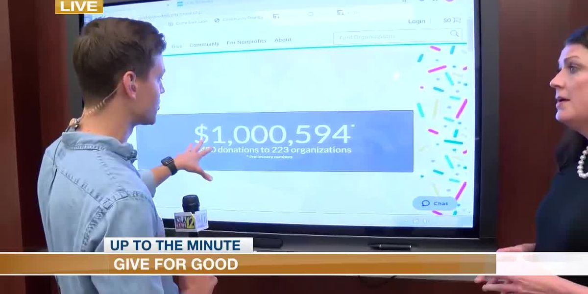 Give For Good nets over $1 million in donations