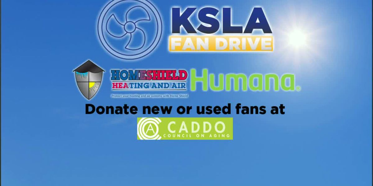 KSLA News 12's fan drive begins today, May 27