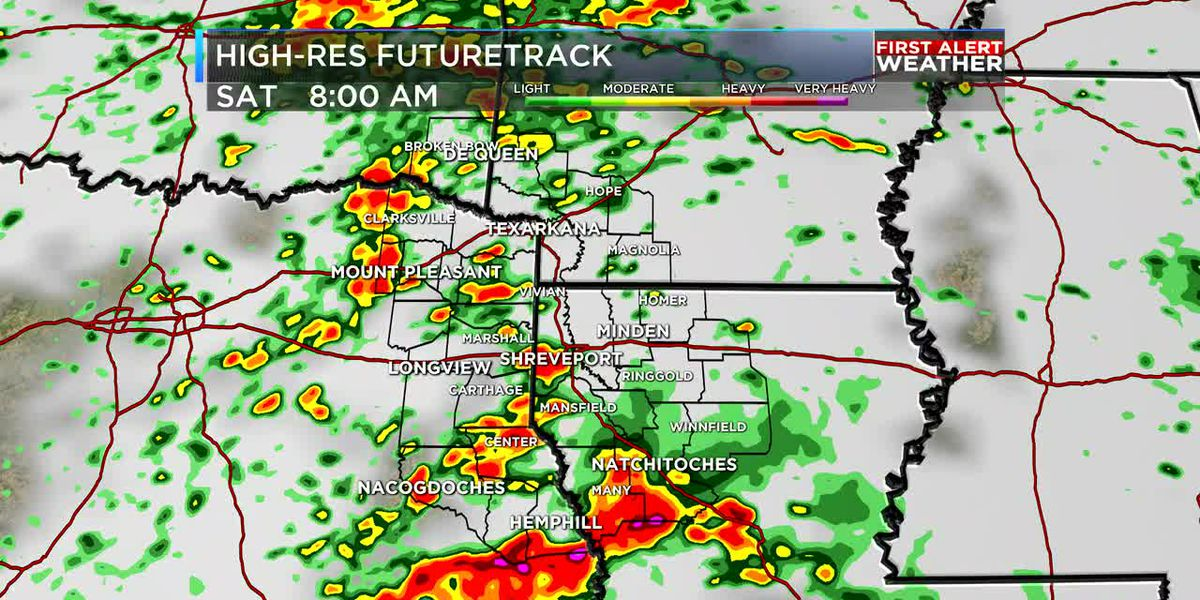 FIRST ALERT: Tracking another round of heavy rain and storms