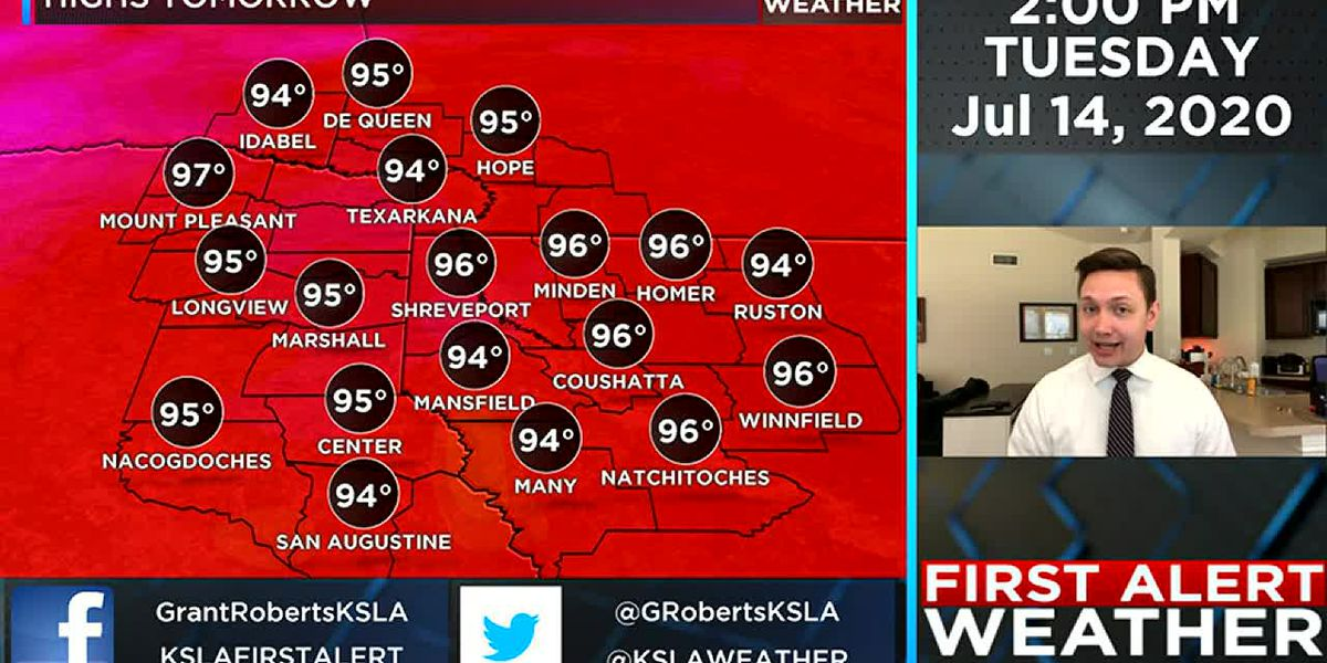 Heat continues with possible relief on its way