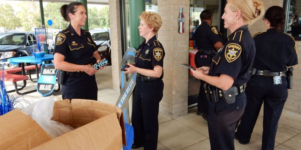 'Support the Blue' event held at Sonic