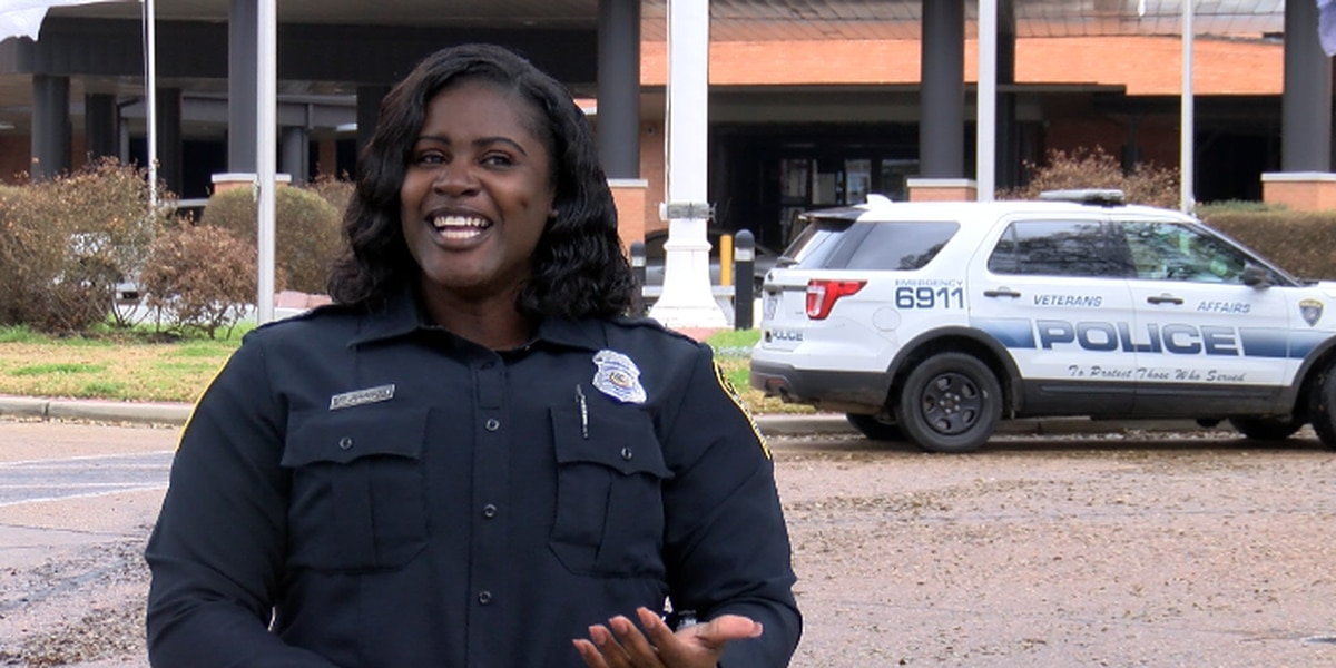 KSLA Salutes: Navy veteran turned VA police officer says helping people is greatest part of career