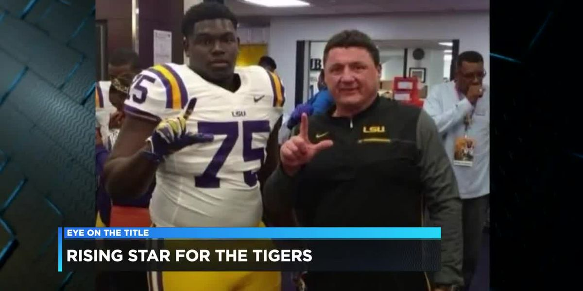 LSU lineman from ETX experiences National Championship game