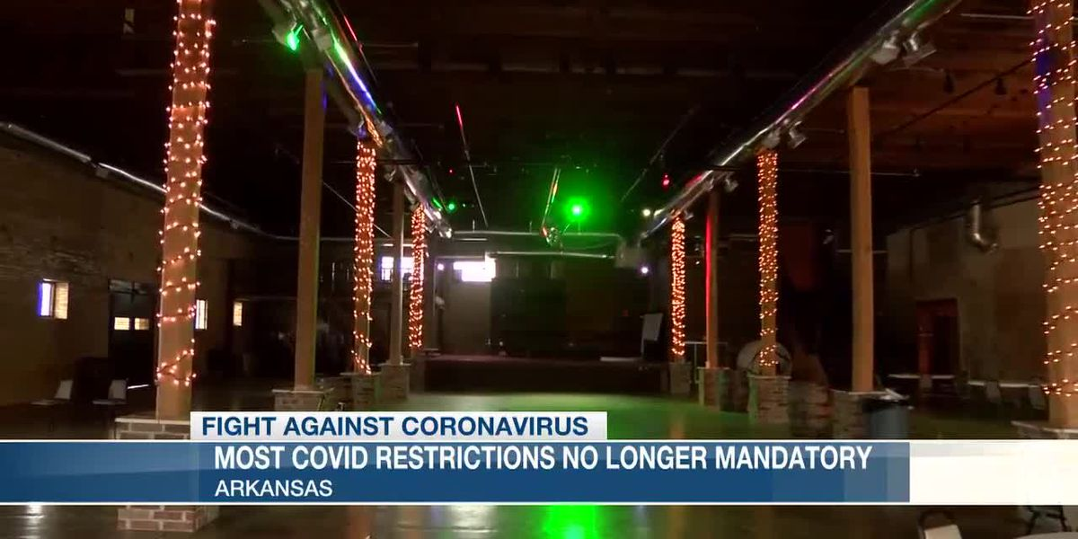 Most COVID restrictions no longer mandatory in Arkansas