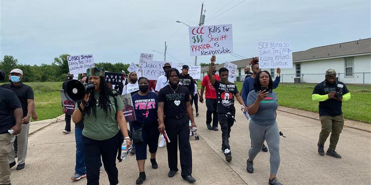 Advocates march for justice in Shreveport