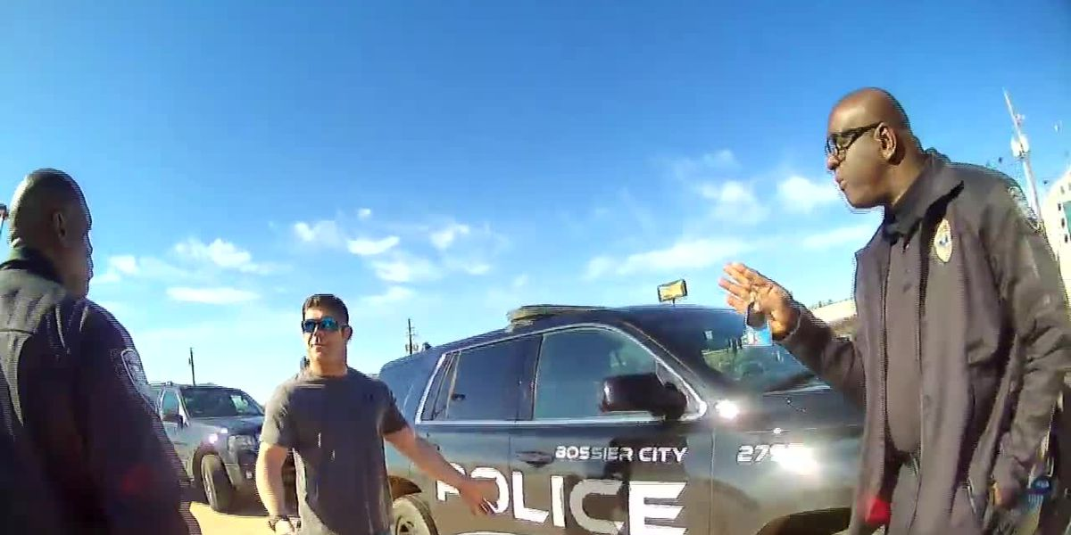 BODY CAM FOOTAGE: Bossier City Police Officer Travis Coker pulled over - 2