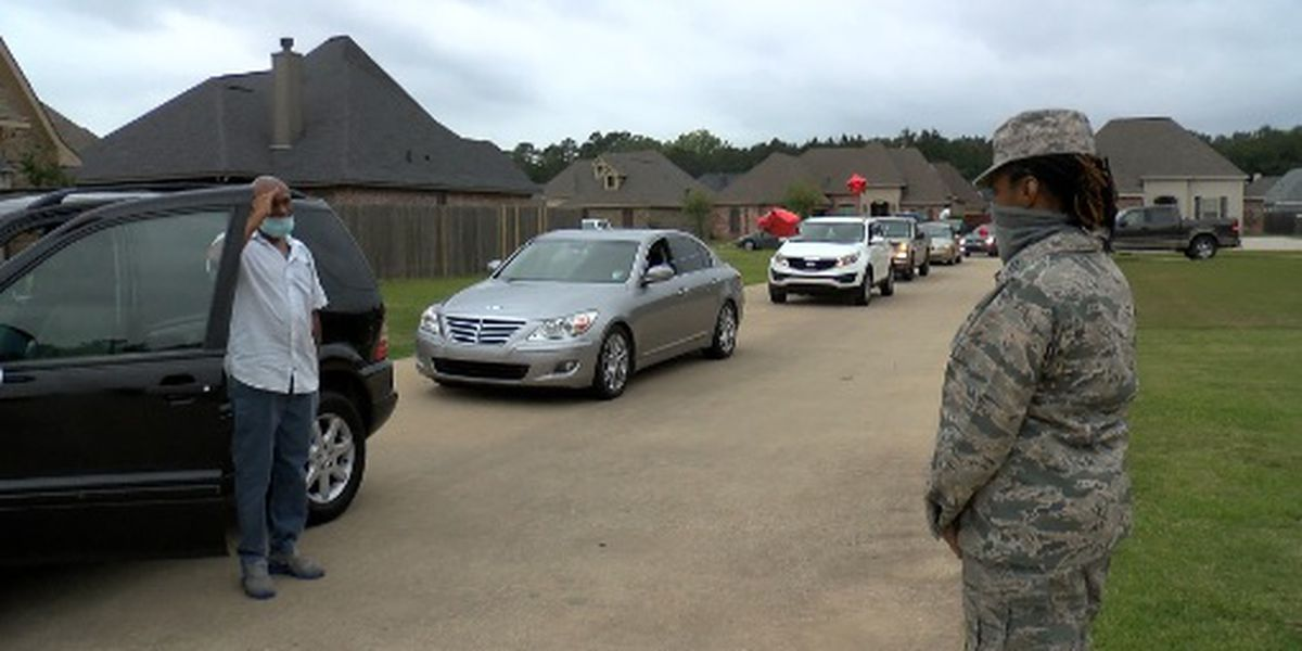 KSLA Salutes: Air Force Reservist heads to New York to help fight against COVID-19
