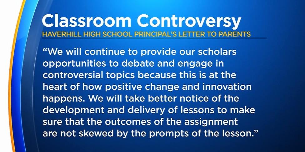 High school homework assignment asks students to debate if Trump is fascist