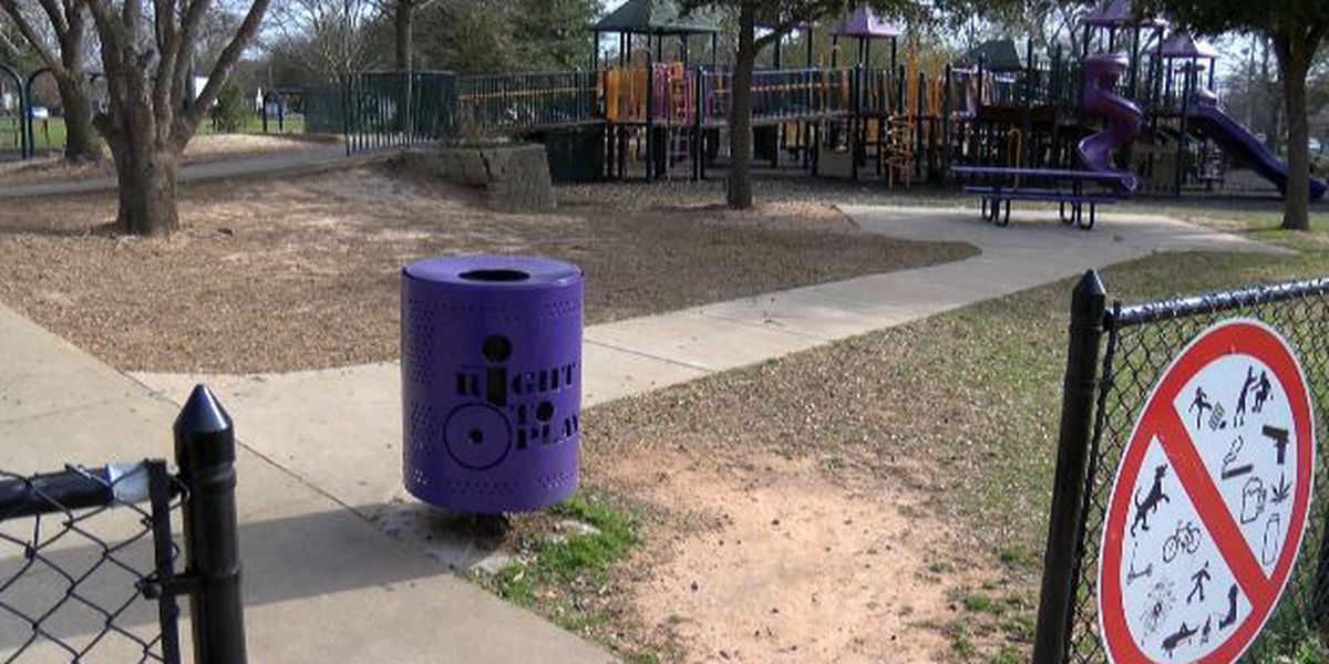Vandals damaging popular Shreveport playground, students raise money for repairs