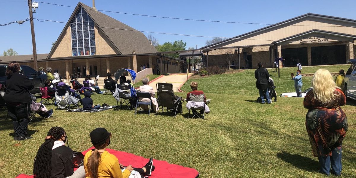 Shreveport churches prepare for Easter services with COVID-19 restrictions