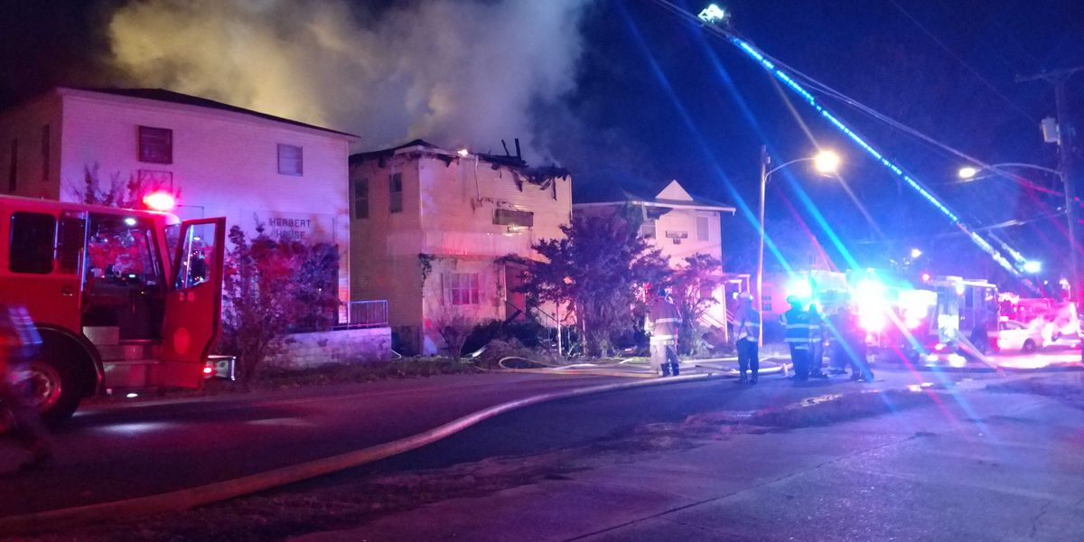 Firefighters at 'Mother Stewart House' extinguish blaze