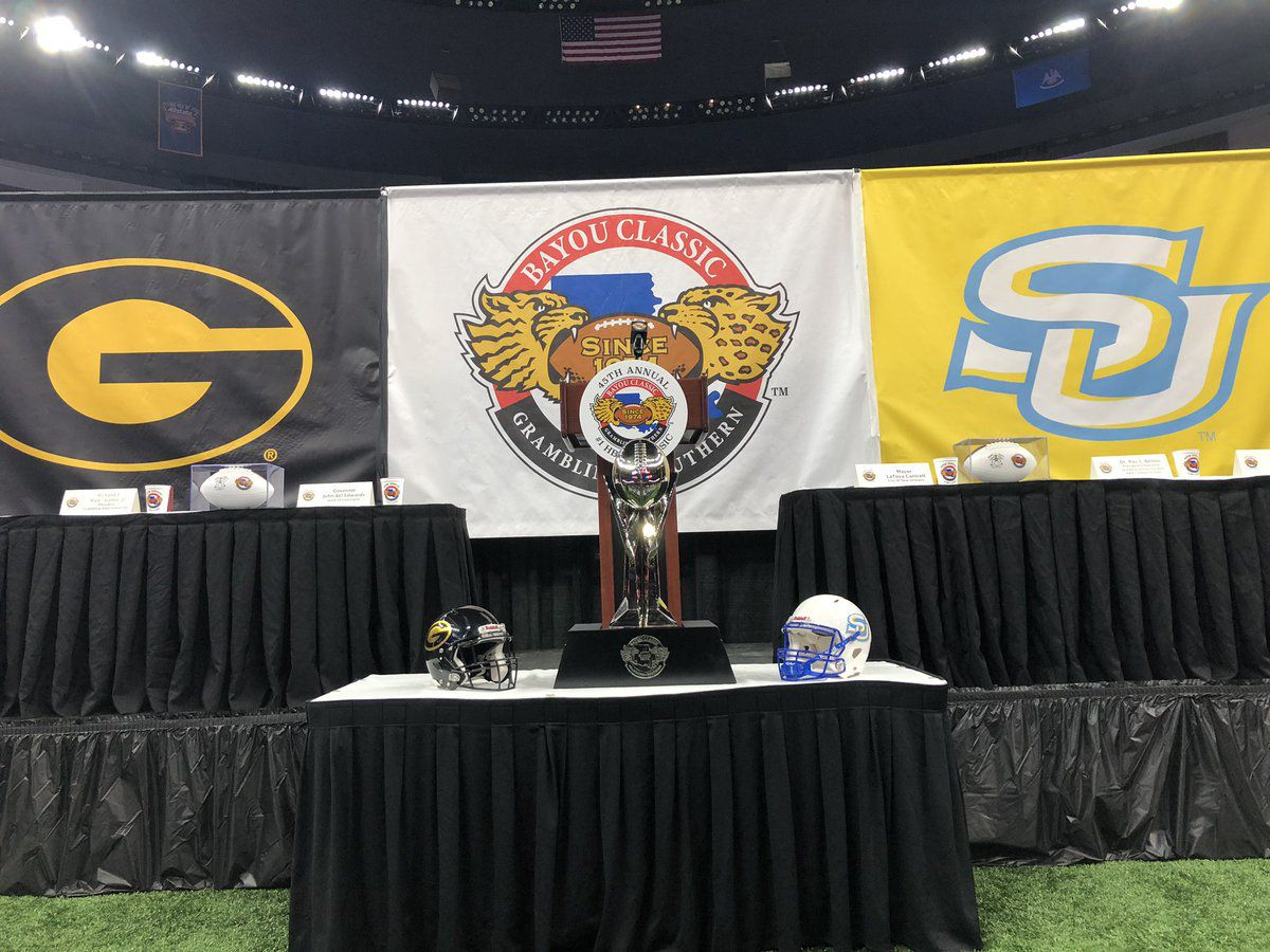 Southern and Grambling get ready to face off in 45th annual Bayou Classic