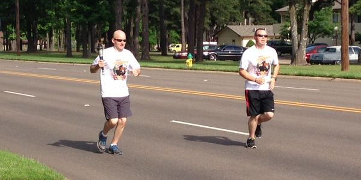 Texarkana officer participate in Torch Run