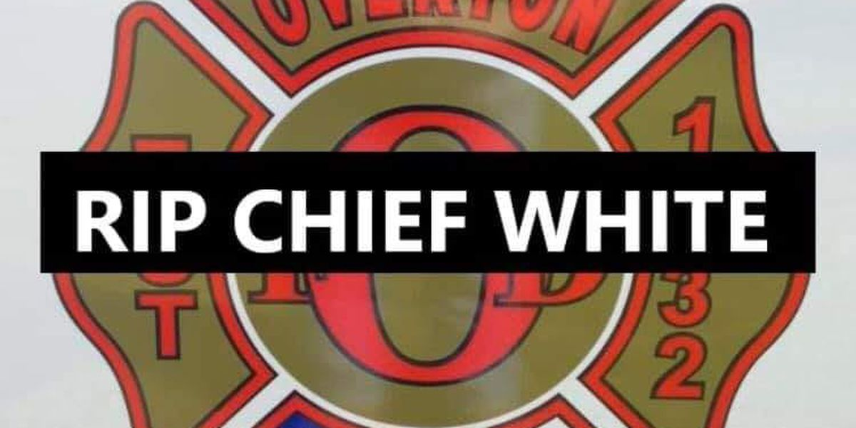 City of Overton says death of Fire Chief Jim White 'a total shock to us all'