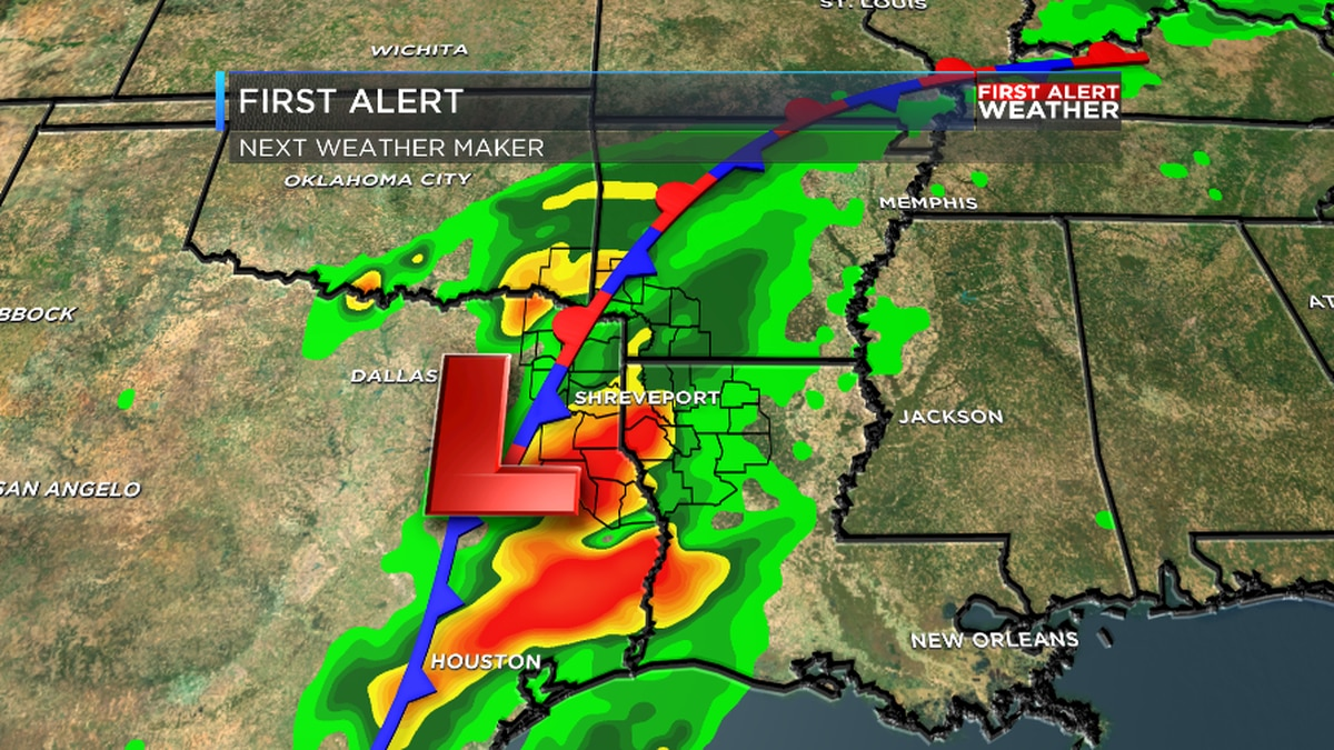 FIRST ALERT: Next round of rain and storms arrives late Wed - Thu