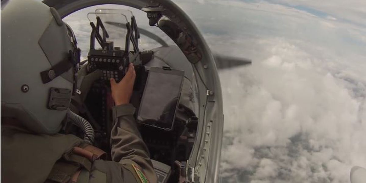 Colombian airmen train at Barksdale Air Force Base