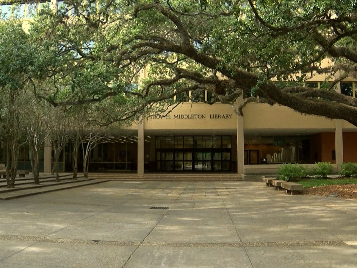 Black student leaders at LSU announce Middleton Library will be renamed, pending board approval