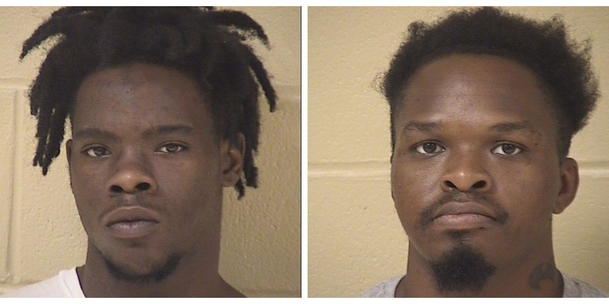 Two men arrested after morning shooting
