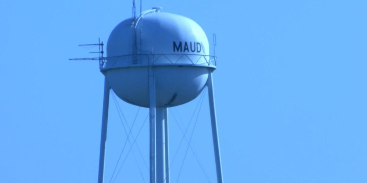 Maud water tower shut off due to major leak