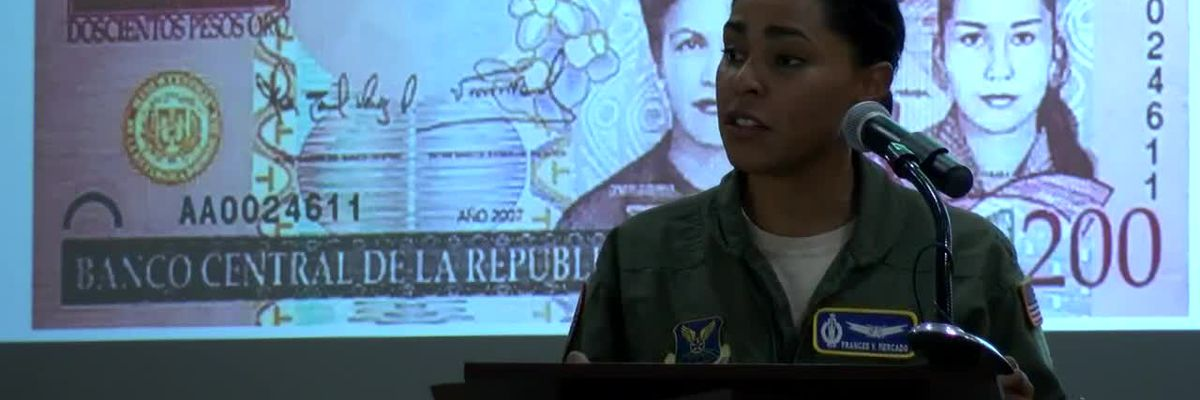 Air Force Maj. Frances Mercado uses her Hispanic roots to inspire others