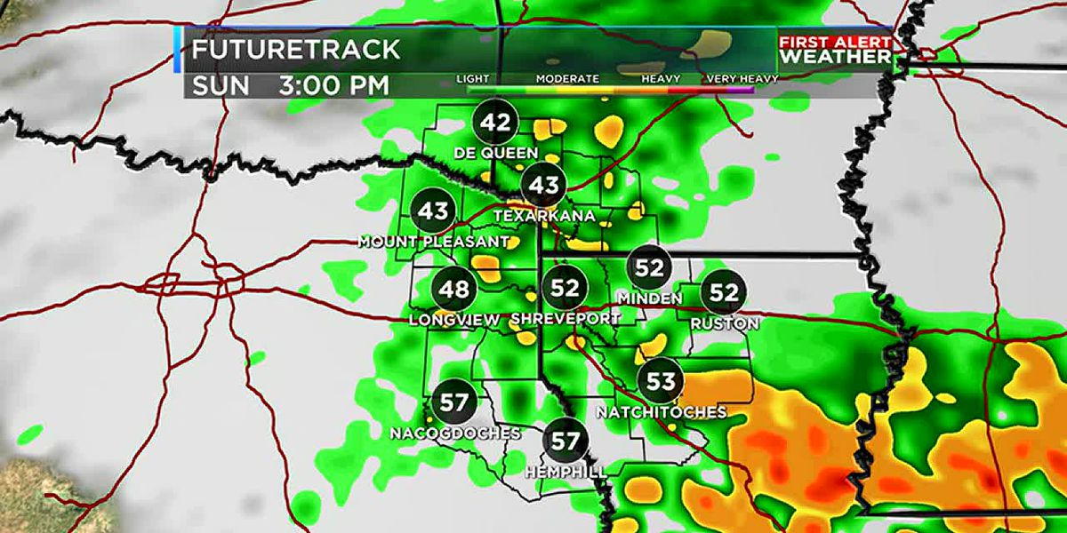 Rain ends tonight, but more on the way this weekend