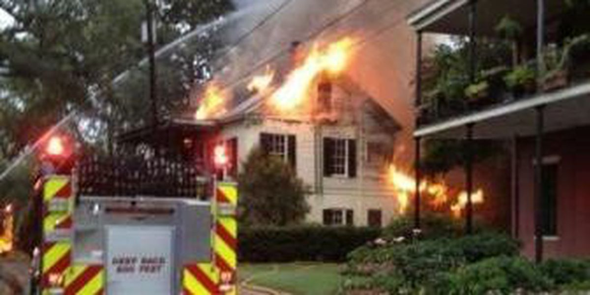 Natchitoches Bed and Breakfast destroyed by fire